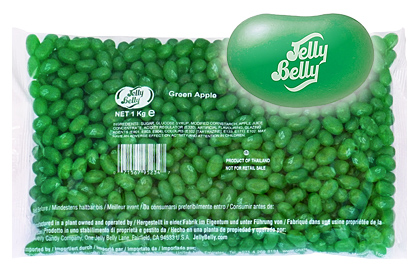 Jelly Bellys Green Apple 1kg