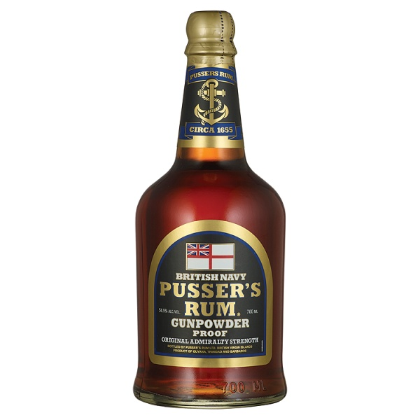 Pussers Gunpowder Rum 70cl 54.5%