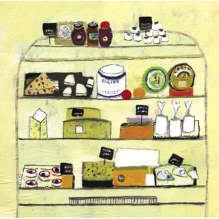 Greeting Card; The Cheese Counter
