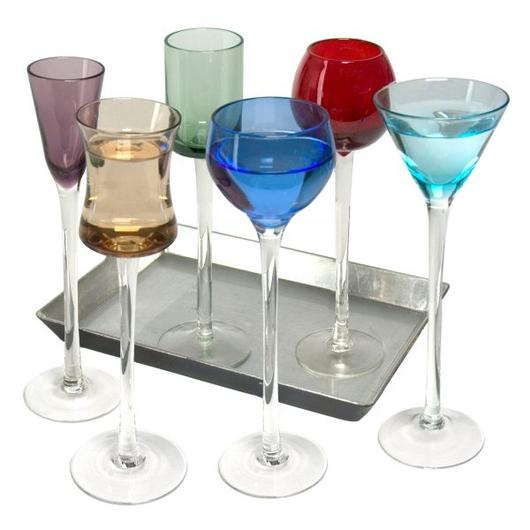 Artland Jewel Liqueur Glasses 7pc Tall
