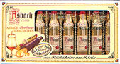 Asbach Brandy Chocolate Bottles 100g 8pc
