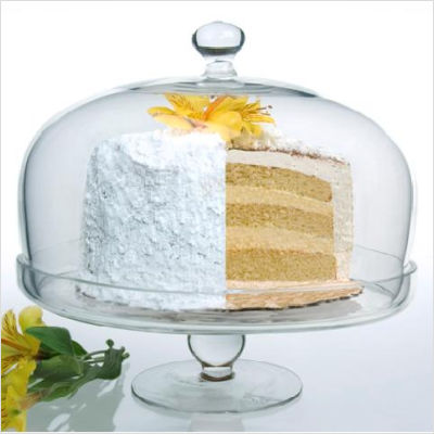 Bia Cake Stand with Glass Dome 26cm (image 2)