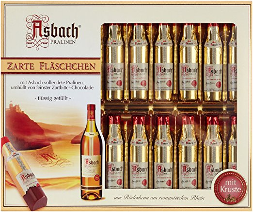 Asbach Brandy Chocolate Bottles 250g