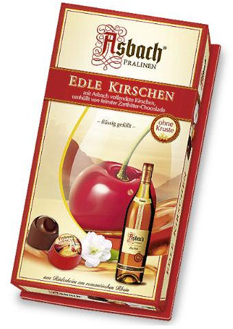 Asbach Cherry And Brandy Chocolate Liqueurs