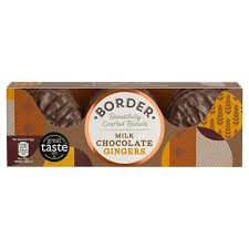 Border Biscuits Dark Chocolate Ginger 150g