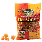 Buderim Cystalised Hot Ginger 125g