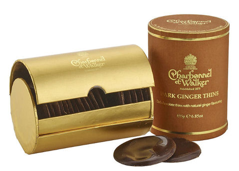 Charbonnel et Walker Thins - Ginger 195g