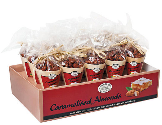 Cottage Delight Caramelised Almonds 125g; plenty here!