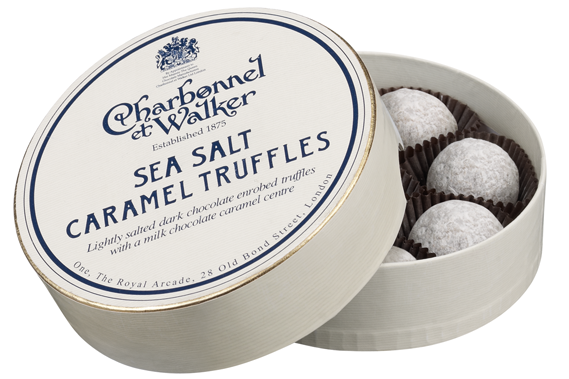 Charbonnel Et Walker Sea Salt Truffles 150g