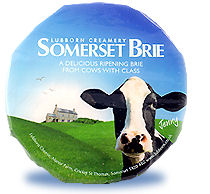 Somerset Brie 2.5kg Whole Cheese