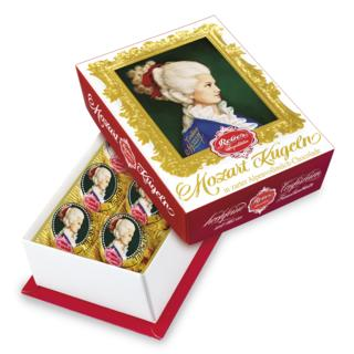 Reber Mozart Kugel Milk Chocolate 120gm 6pc