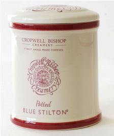 Cropwell Bishop Blue Stilton Jar 300gm