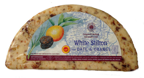 White Stilton with Date and Apricot