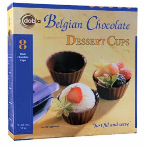 Dobla Chocolate Cups 8pc (image 1)