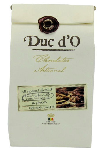 Duc d`O Milk Truffles with Cookies 200g (image 1)