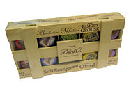 Duc D`O Liqueur Chocolates 125g Wooden Box