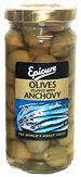 Epicure Manzanilla Olives With Anchovy 240g