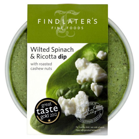 Findlater's Wilted Spinach & Ricotta Dip with Roasted Cashews