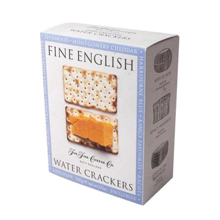 Fine English English Water Biscuits