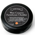 Ford Farm West Country Cheddar 400g Wax Truckle