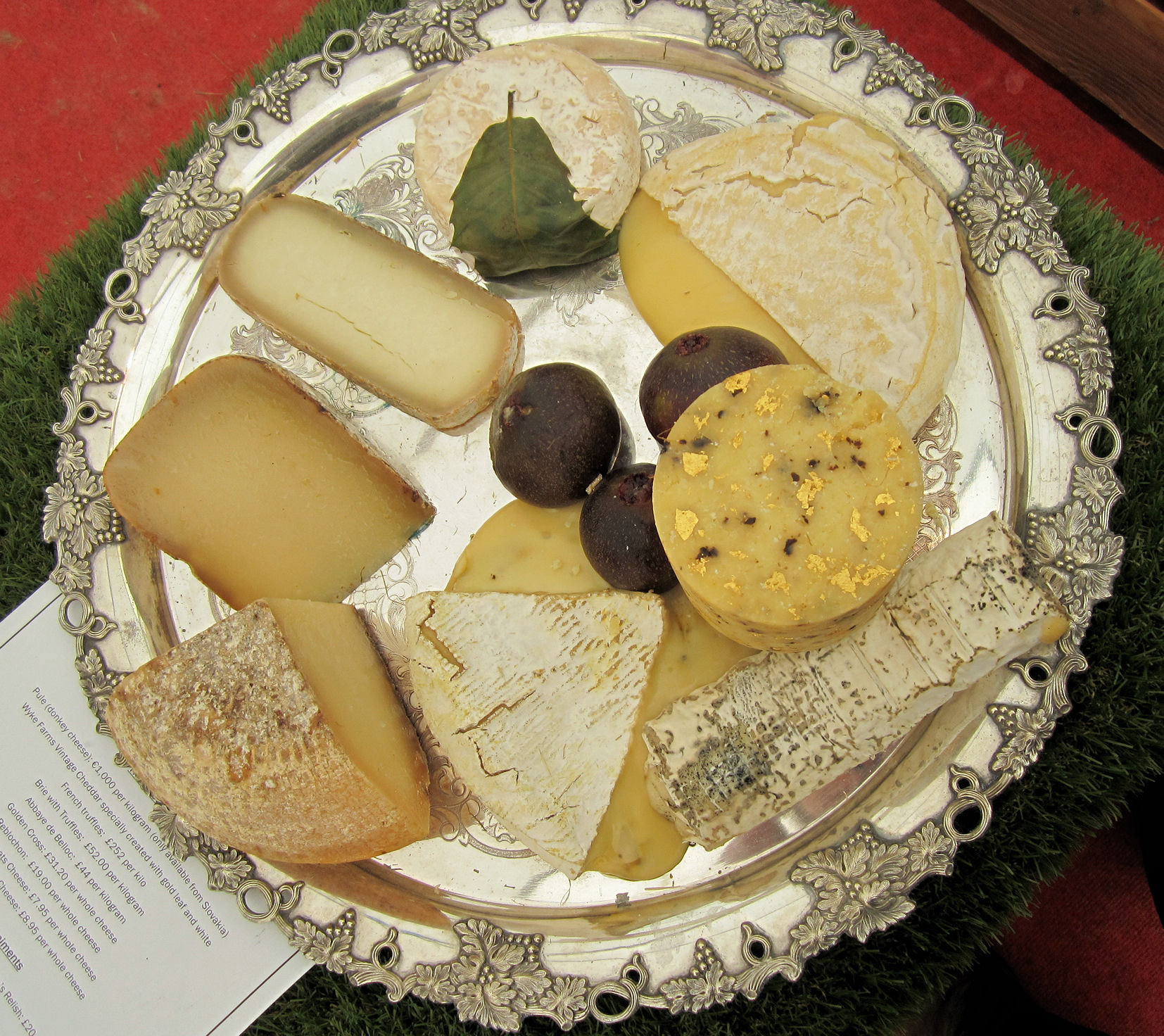 The Worlds Most Exspensive Cheeseboard!