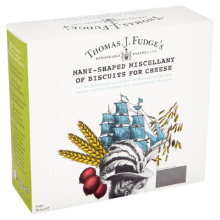 Fudges Biscuits For Cheese 300g
