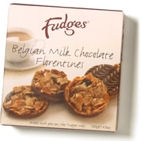 Fudges Milk Chocolate Florentines 140g