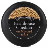 Ford Farm Cheddar With Mustard and Ale 200g