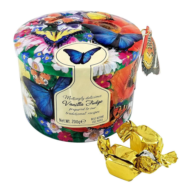 Gardiners Butterfly Tin Fudge 200g
