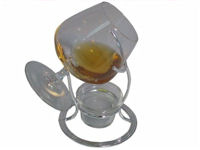 Brandy/Cognac Warmer With Tealight (image 1)