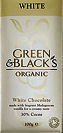 Green & Blacks White Chocolate 100g