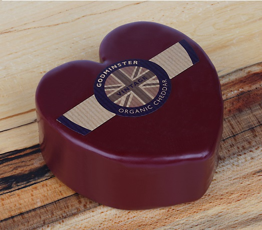 Godminster Cheddar 400g Heart