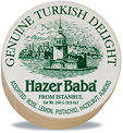 Hazer Baba Assorted Turkish Delight 250g Wooden Drum