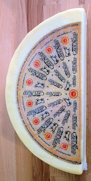 Wookey Hole Cave Aged Cheddar Cheese Cake Cut 3kg+