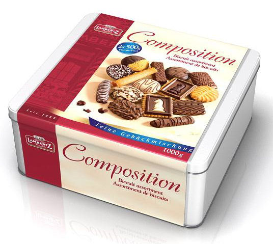 Lambertz Composition Selection Tin 1kg