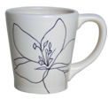 Laurie Gates Design Anna Mug in White