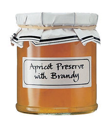Apricot Preserve with Brandy 340g (image 1)