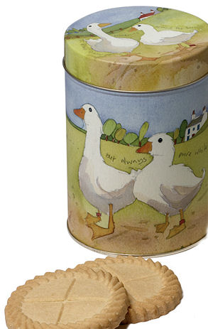 Moores Shortbread In Farm Tin 400g (image 1)