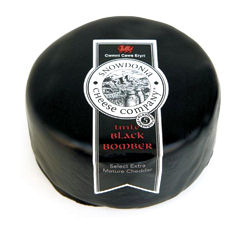 Snowdonia Little Black Bomber Wax Cheddar 200g
