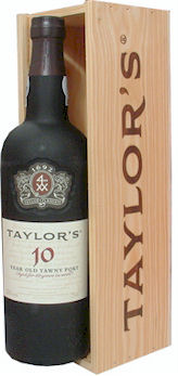 Taylors 10 Year Old Port 75cl Wooden Giftbox