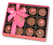 Cottage Delights Violet & Rose Selection Box 140g (image 1)
