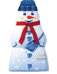Lindt White Chocolate Snowman