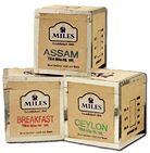 Assam Kenya Mini Tea Chests 50g