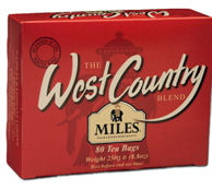Miles West Country Teabags 250g