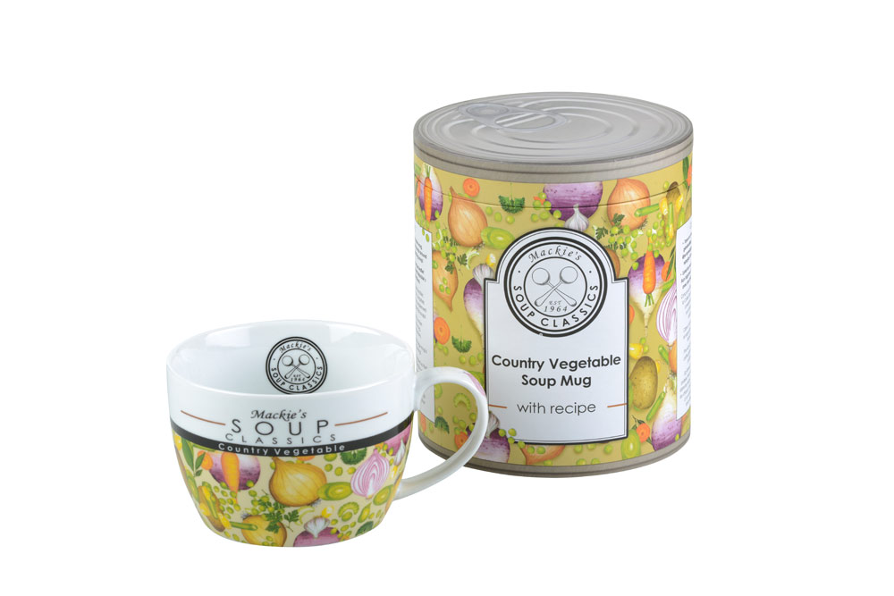 Clare Mackie Country Vegetable Soup Mug