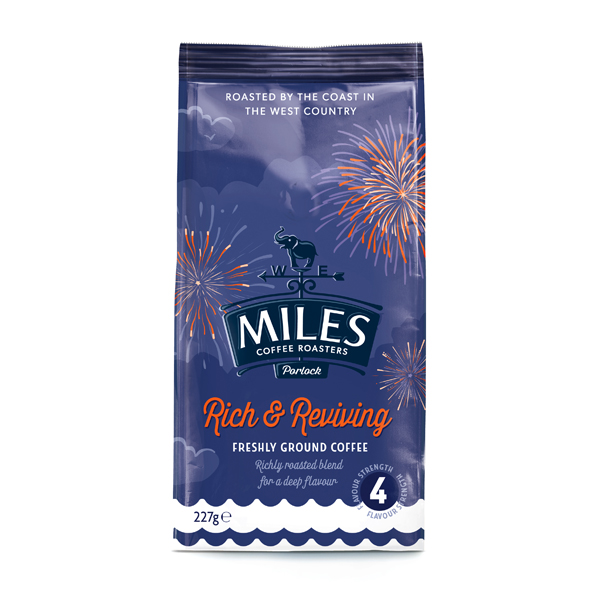 Miles Breakfast Blend Coffee Beans 227g