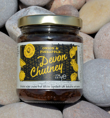 Ottervale Onion Pineapple Chutney 225g