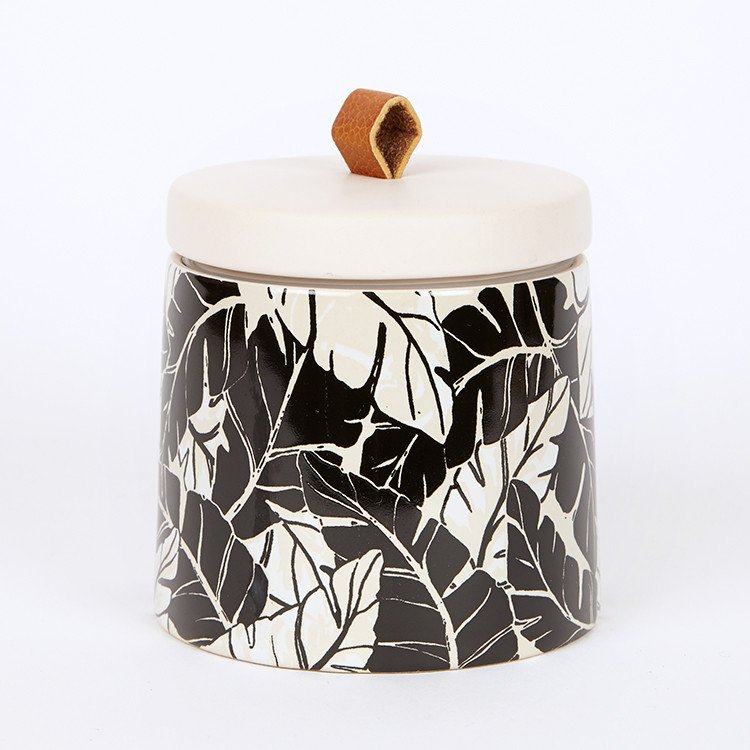 Paddywax Botany Candle Black Coconut Amber