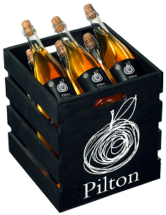 Lots of Pilton Somerset Cider in this crate!