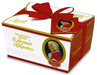 Reber Mozart Kugelin Ballotin 240g 12pc